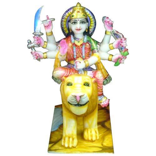 Buy Marble Durga Idol
