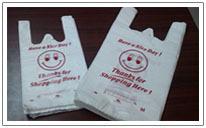 Buy HDPE T- shirts bags