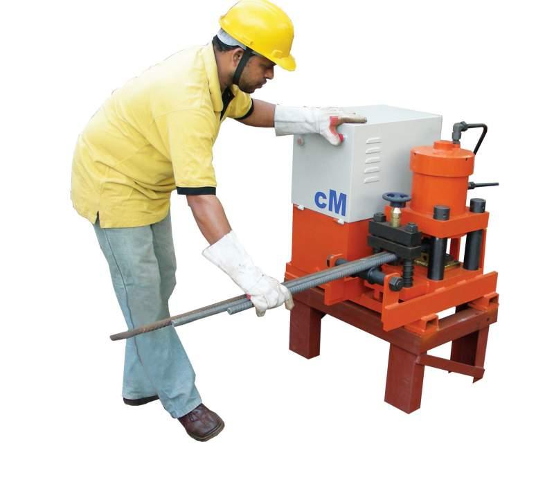 metal cutting machine. reinforcing steel cutting machine - v series metal g