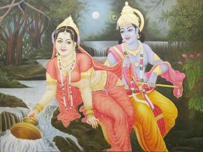 Radha Krishna Painting Buy In Pune