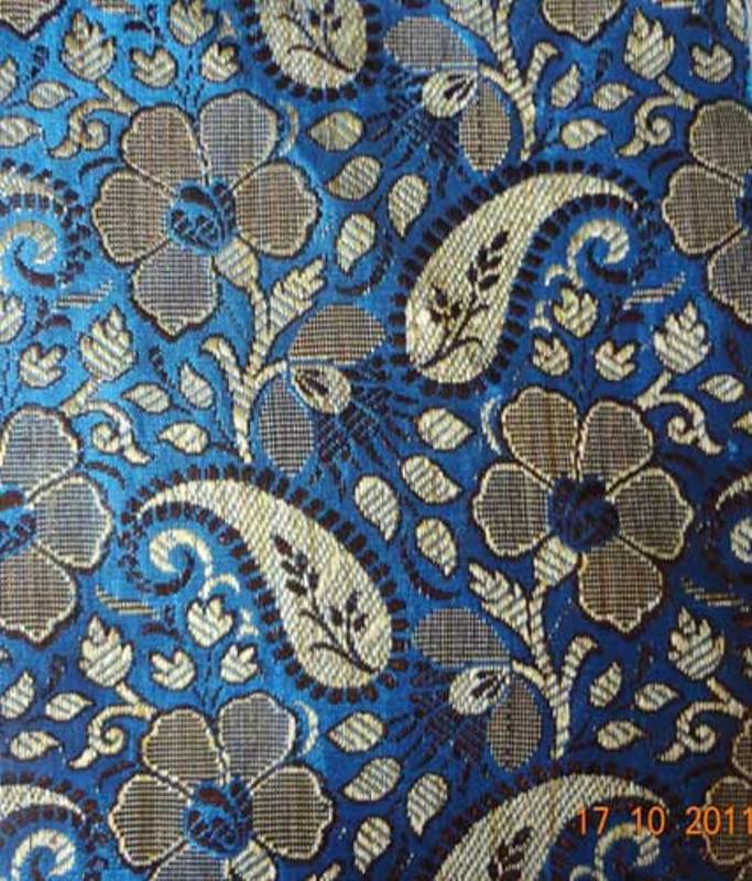 Silk Jacquard Fabric