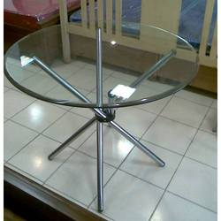 Round Conference Table With Glass Top Buy In New Delhi - Conference table india