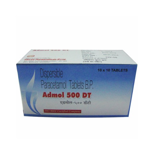 Buy Dispersible Paracetamol Tablets B.P. 500 mg