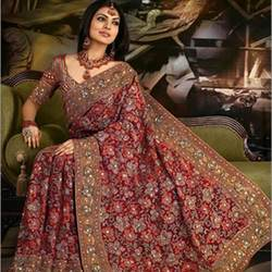 Designer Wedding Sarees Buy In Jalandhar