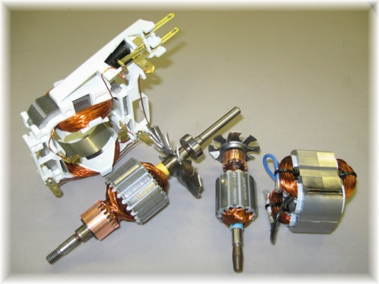 Electric Motor Components Motor Components