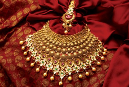 Gold Necklace buy in Jaipur 4318230a5