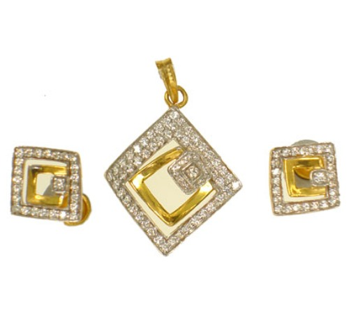 Diamond pendant sets buy in mumbai diamond pendant sets mozeypictures Choice Image