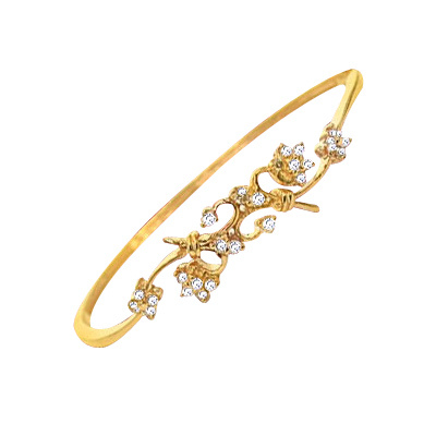 beautiful gold of flower bracelet a charms with posy on bouquet rose flowers