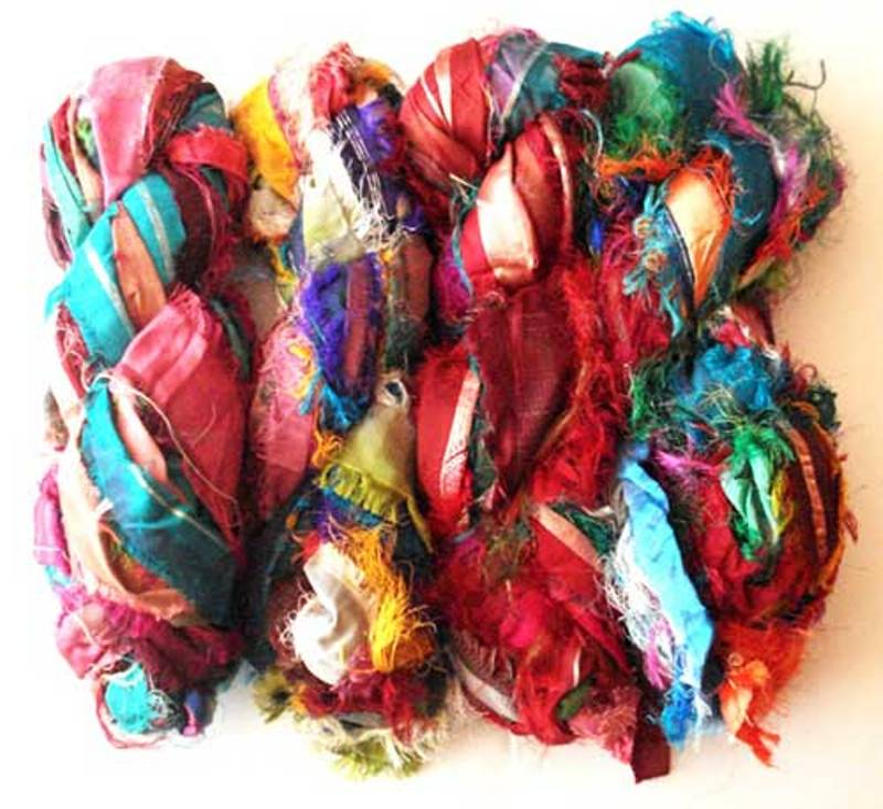 Buy Silk Ribbon Yarn