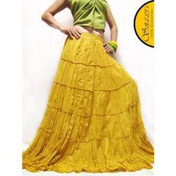 Long Yellow Skirt — Buy Long Yellow Skirt, Price , Photo Long ...