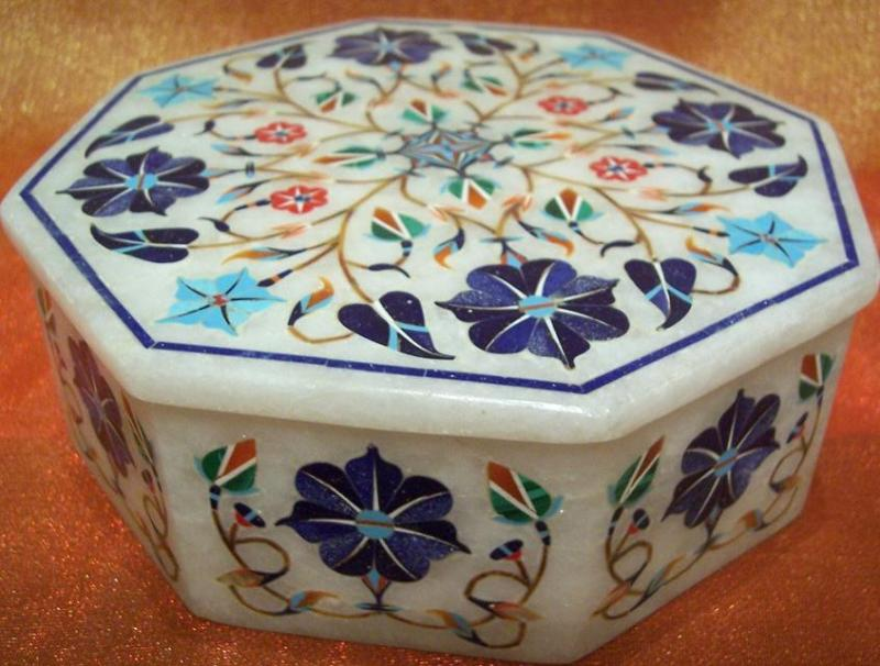 Buy Marble Inlay Box