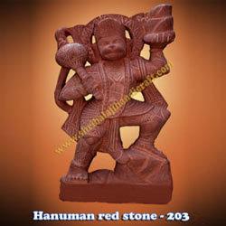 Buy Hanuman Red Stone-203