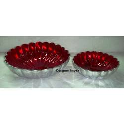 Buy Glass and Aluminum Bowl