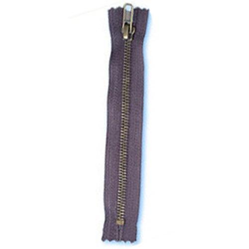 Buy Antique Brass Zipper