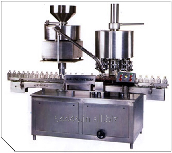 Buy Automatic High Speed Rotary Eight Heads ROPP CapSealing Machine [ Model NKCS - 300VR ]