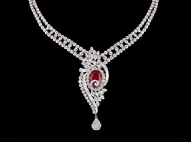 Diamond necklace buy in gurgaon diamond necklace aloadofball Image collections