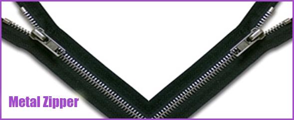 Buy Metal Zippers