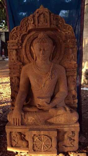 Buy Sandstone Buddha Statue