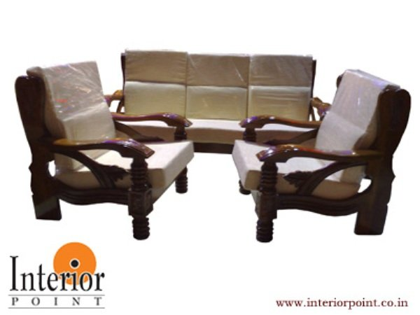 Wooden Sofa Set W S S 9201 Buy In Mumbai