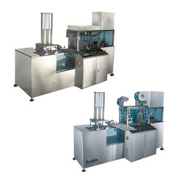 Buy Linear 2 Head / Nozzle, Cup Rinsing, Filling & Sealing Machine