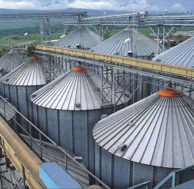 Buy Flat Bottom Silos