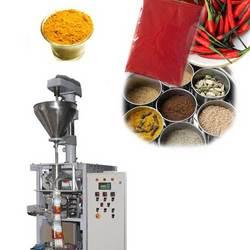 Spice packaging machine