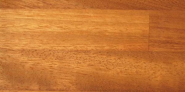Wood Desk Top View
