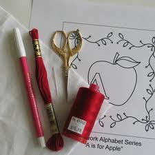 Buy Embroidery materials
