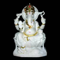 Buy White Ganesh