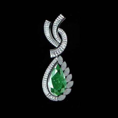 Green pearl designer pendant buy in mumbai green pearl designer pendant mozeypictures Gallery