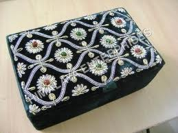 Buy Embroidered Jewellery Boxes
