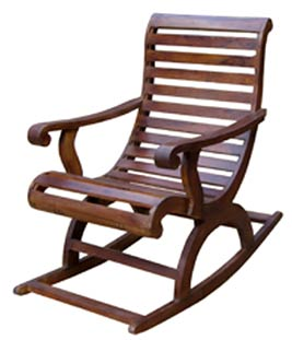 Sheesham Wood Rocking Chair — Buy Sheesham Wood Rocking Chair ...