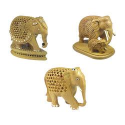 Buy Wooden Elephant Statues
