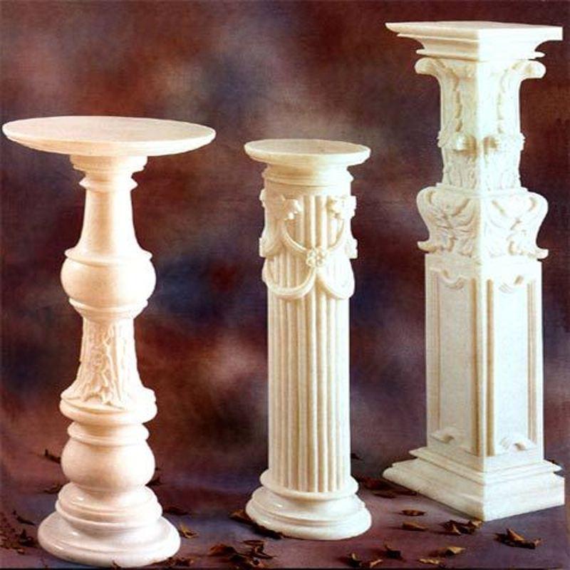 Decorative Pillars; more
