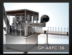 Automatic Rinsing Filling & Capping Machine