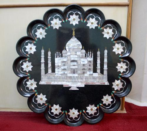 Buy Black Stone Decorative Plate