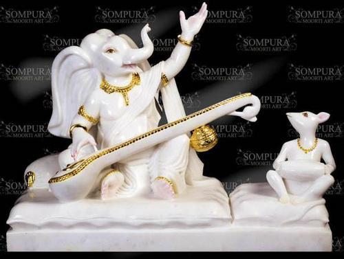 Marble Ganesha Statue buy in Ahmedabad
