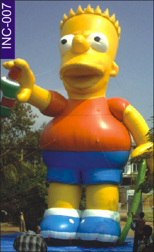 Buy Inflatable figures Bart Inflatable