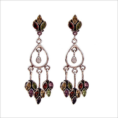Buy Semi precious earrings