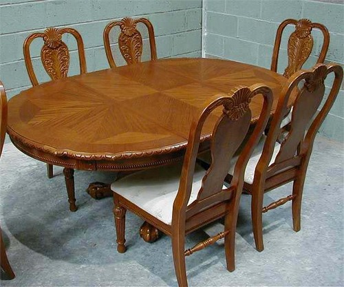 Dining Table Price Carved Buy Photo