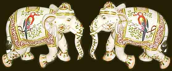 Buy Marble Elephants