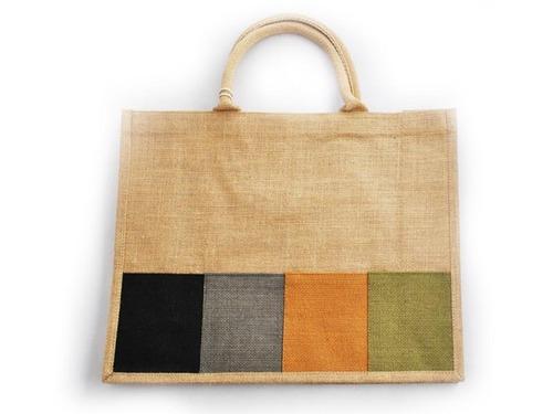 Designer Jute Shopping Bag — Buy Designer Jute Shopping Bag, Price ...