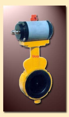 Buy Rotury Actuated Butterfly Valve