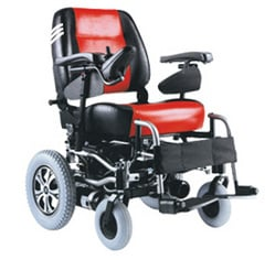Folding Basic Electric Wheelchair