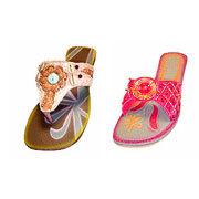 Buy Beaded Ladies Footwear
