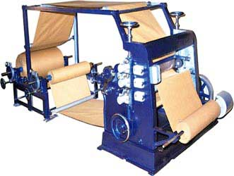 Buy Vertical Type Single Face Paper Corrugating Machine