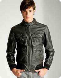 Leather jacket for men for sale in Mumbai on English