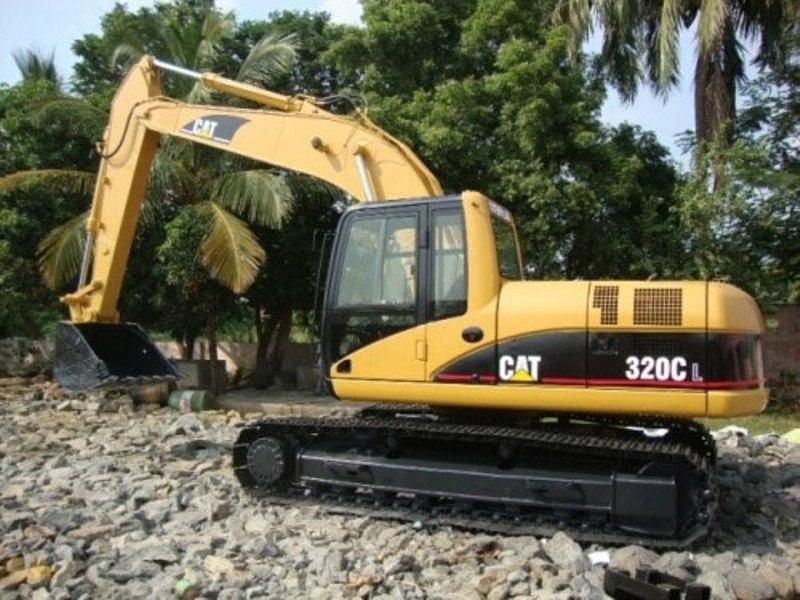 Used Caterpillar Excavators buy in Chennai