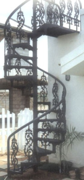 Cast Iron Spiral Staircase MDFS 003