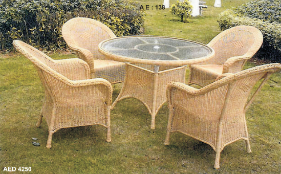collections of rattan wicker furniture ae 138 aed 4250 buy in kochi